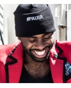 Custom Logo #Pause Hat by Money Gang