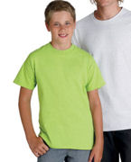 Monogrammed 0 Hanes Youth 6.1 oz. Tagless ComfortSoft T-Shirt