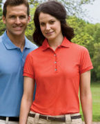 Logo 13 Izod Ladies' Performance Golf Piqu Polo