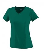 Monogrammed 1790 Augusta Sportswear Ladies' Moisture-Wicking V-Neck T-Shirt
