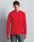 Embroidered 2007 American Apparel Unisex Fine Jersey Long-Sleeve T-Shirt