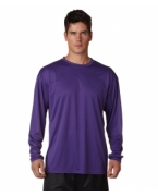 Promotional A4 Adult Cooling Performance Long-Sleeve Tee
