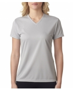 Personalized A4 Ladies' Textured Tech Tee