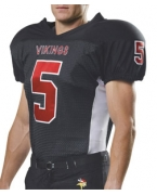 Logo A4 Youth Titan 4-Way Stretch Football Jersey