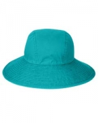Embroidered Adams Ladies' Sea Breeze Floppy Hat