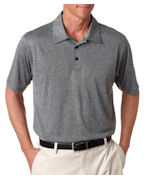 Customized Adidas Adult ClimaLite Heathered Polo