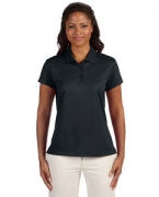 Embroidered adidas Golf Ladies' ClimaCool Diagonal Textured Polo