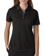 Monogrammed adidas Golf Ladies' ClimaCool Mesh Color Hit Polo