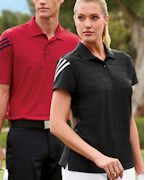 Monogrammed adidas Golf Ladies' ClimaCool Mesh Polo