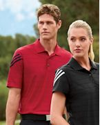 Custom Logo adidas Golf Men's ClimaCool Mesh Polo