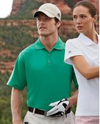 Personalized adidas Golf Men's ClimaLite Pique Short-Sleeve Polo