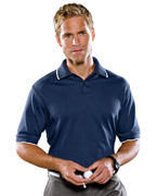 Personalized adidas Golf Men's ClimaLite Tour Jersey Short-Sleeve Polo