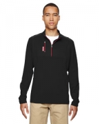 Embroidered adidas Golf puremotion Mixed Media Quarter-Zip