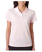 Logo Adidas Ladies' ClimaLite Pique Polo