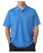 Embroidered Adidas Men's ClimaLite Solid Polo
