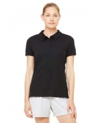 Monogrammed All Sport Ladies' Performance Three-Button Mesh Polo