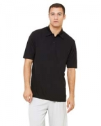 Embroidered All Sport Unisex Performance Three-Button Mesh Polo