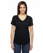 Customized Alternative Ladies' Cotton/Modal Everyday V-Neck