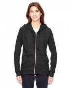 Monogrammed Alternative Ladies' Eco-Mock Twist Adian Hoodie