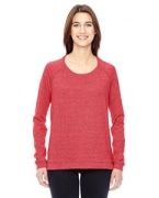 Logo Alternative Ladies' Eco-Mock Twist Locker Room Pullover