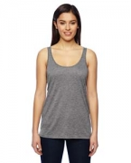 Customized Alternative Ladies' Melange Burnout Airy Tank
