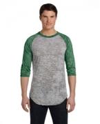Promotional Alternative Men's Classic Burnout Big League Baseball Fashion T-Shirt