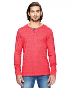 Promotional Alternative Men's Eco-Mock Twist Long-Sleeve Henley