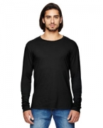 Monogrammed Alternative Men's Heritage Long-Sleeve T-Shirt