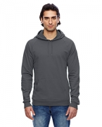 Embroidered American Apparel California Fleece Pullover Hoodie