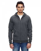 Embroidered American Apparel Unisex California Fleece Zip Hoodie