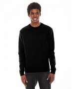 Embroidered American Apparel Unisex Classic Crew Sweatshirt