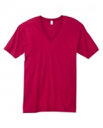 Promotional American Apparel Unisex Fine Jersey Short-Sleeve V-Neck