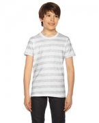Custom Logo American Apparel Youth Fine Jersey Short-Sleeve T-Shirt