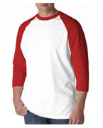 Custom Logo Anvil Adult Baseball Tee