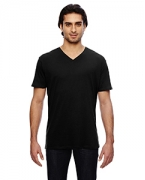Embroidered Anvil 3.2 oz. Featherweight Short-Sleeve V-Neck T-Shirt