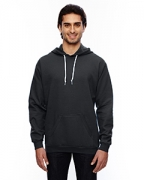 Logo Anvil 7.2 oz. Fleece Pullover Hood
