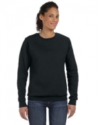 Custom Logo Anvil Ladies' Crewneck Fleece