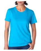 Logo Anvil Ladies' Fashion Fit Tee with TearAway label
