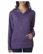 Monogrammed Anvil Ladies' Hooded French Terry Fleece