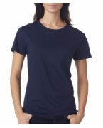 Monogrammed Anvil Ladies' Midweight Mid-Scoop Cotton Tee