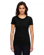 Monogrammed Anvil Ladies' Triblend Scoop Neck T-Shirt