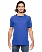 Logo Anvil Lightweight Ringer T-Shirt