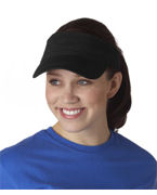 Monogrammed Anvil Solid Low-Profile Twill Visor
