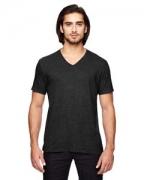 Embroidered Anvil Triblend V-Neck T-Shirt