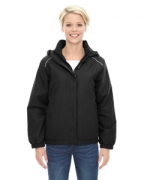 Custom Embroidered Ash City - Core 365 Ladies' Brisk Insulated Jacket