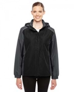Logo Ash City - Core 365 Ladies' Inspire Colorblock All-Season Jacket