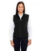 Customized Ash City - Core 365 Ladies' Journey Fleece Vest