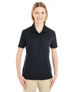 Personalized Ash City - Core 365 Ladies' Origin Performance Pique Polo with Pocket