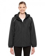 Embroidered Ash City - Core 365 Ladies' Profile Fleece-Lined All-Season Jacket