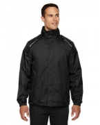 Monogrammed Ash City - Core 365 Men's Climate Seam-Sealed Lightweight Variegated Ripstop Jacket